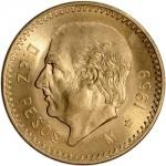 Mexico 10 Pesos 1959 ouro