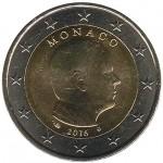 Mónaco 2€ 2016 Corrente