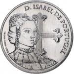 Portugal 5€ D. Isabel de Portugal 2015