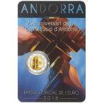 Andorra 2€ Aniversário da Constituição 2018