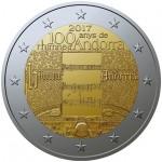 Andorra 2€ 100 Anos do Hino 2017