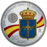 Espanha 30€ 130 Anos do Reino das Asturias 2018
