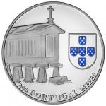Portugal 2,50€ Espigueiros do Noroeste Prata Proof 2018
