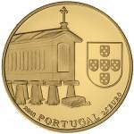 PortugaL 2,50€ Espigueiros do Noroeste Ouro Proof 2018