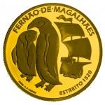 Portugal 7,5€ Fernão Magalhães (Estreito) Ouro 2020 Proof