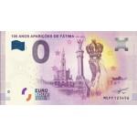 Nota 0€ 100 Anos das Aparições de Fátima 2017