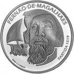Portugal 7,5€ 500 Anos da Viagem de Circum-Navegação de Fernão de Magalhães 2019 Prata Proof