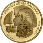 Portugal 7,5€ 500 Anos Viagem de Circum-Navegação de Fernão de Magalhães Ouro Proof