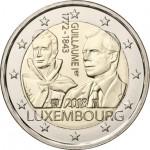 Luxemburgo 2€ Guilliarme I 2018