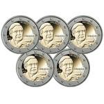 Alemanha 2€ Helmut Schmidt 2018 - 5 Letras