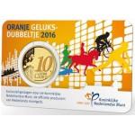 Holanda 10 Cêntimos Coloridos 2016