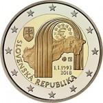 Eslováquia 2€ 25 Anos da República 2018