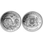 Somália 100 Shillings Elefante 2018 - 1oz