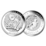 Austrália 1 Dollar Koala 2018 - 1oz