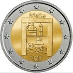 Malta 2€ Património Cultural 2018