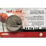 Bélgica 5€ Armisticio 2018