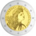 São Marino 2€ Leonardo Da Vinci 2019