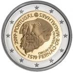 Portugal 2€ Viagem de Circum-Navegação de Fernão de Magalhães 2019