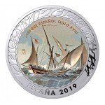 Espanha 4x 1,5€ História da Navegação 5ª Série