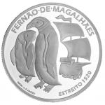 Portugal 7,5€ Fernão Magalhães (Estreito) Prata Proof 2020