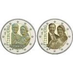 Luxemburgo 2€ Príncipe Charles 2020 2 moedas