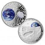 Itália 5€ Chegada á Lua 2019