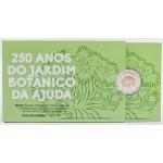Portugal 2€ 250 Anos Jardim Botânico 2018 Proof