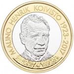 Finlândia 5€ Mauno Koivisto 2018