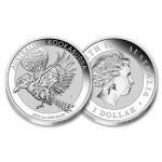 Austrália 1 Dollar Kookaburra 2018 - 1oz