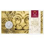 Áustria 5€ Ano Novo - Força do Leão 2018 Bnc