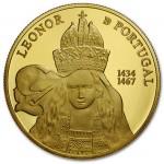 Portugal 5€ Rainha D. Leonor Ouro 2014