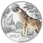 Áustria 3€ Lobo 2017