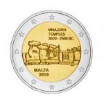 Malta 2€ Templo de Mnajdra 2018