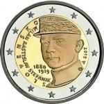 Eslováquia 2€ Milan Stefanik 2019