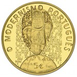Portugal 5€ O Modernismo Ouro Proof 2016