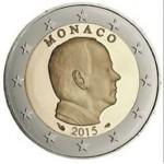 Monaco 2€ 2015 Corrente