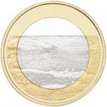 Finlândia 5€ Arquipélago Pallastunturi 2018