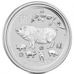 Austrália 1 Dollar Ano do Porco 2019 (1oz)