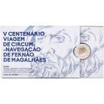 Portugal 2€ Viagem de Circum-Navegação Fernão de Magalhães Proof 2019