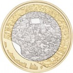 Finlândia 5€ Rio Porvoonjoki 2018