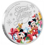 Niue 1 Dollar Seasons Greetings 1/2oz Disney 2018