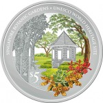 Singapura 5 Dólares 2016 Jardim Botanico