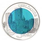 Luxemburgo 5€ Castelo D'useldange Niob 2017