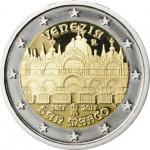 Itália 2€ Veneza - Praça de São Marcos 2017
