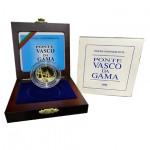 Portugal 500$00 Ponte Vasco da Gama 1998 Ouro / Prata